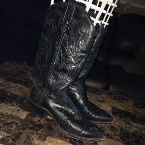 Shoes - Leather cowboy boots